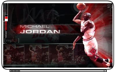 Michael Jordan Laptop Netbook Skin Decal Cover Sticker