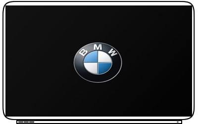 Emblem BMW Logo Laptop Netbook Skin Decal Cover Sticker