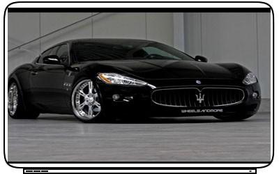 Cars Maserati Camaro Laptop Netbook Skin Decal Stickers
