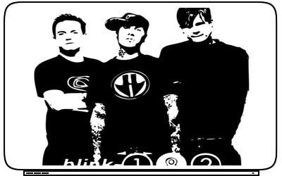 Bands Blink 182 Laptop Netbook Skin Decal Cover Sticker