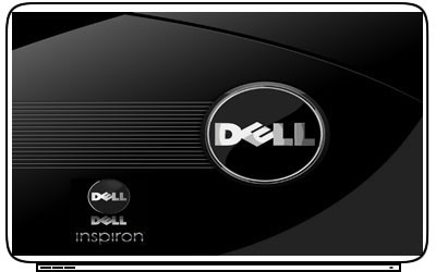 Comp Dell Logo Laptop Netbook Skin Cover Sticker Decal