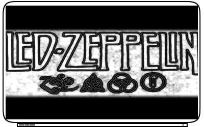 Led Zeppelin Laptop Netbook Skin Decal Cover Sticker