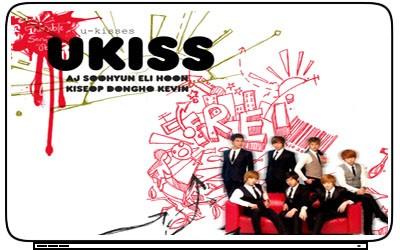 UKiss U KISS K Pop Boy Band Singer Laptop Netbook Skin Cover Sticker