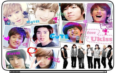 UKiss U KISS K Pop Boy Band Singer Laptop Netbook Skin Cover Sticker