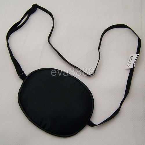 Brand New Black Real Pure Silk Eye Care Mask Health Care