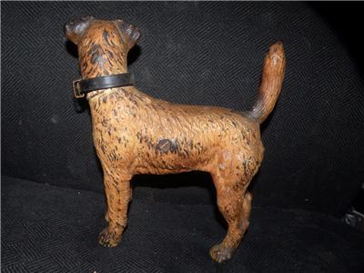 Antique Hubley Fox Terrier Dog Doorstop Door Stop Ebay