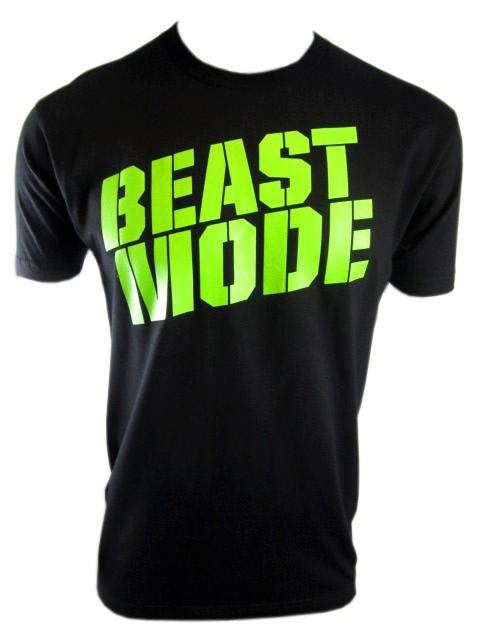c34dcaca MusclePharm Beast Mode MMA Tee Shirt Black Sizes s M L XL 2XL on ...