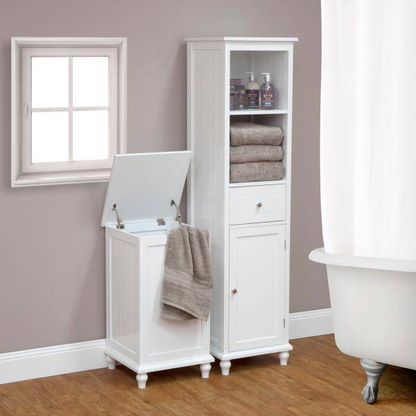 New The Heritage Laundry Hamper Bathroom Storage Box