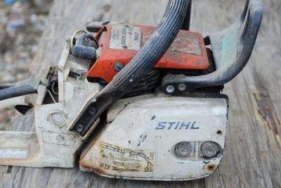 Stihl 028 av Super parts breakdown Owners manual