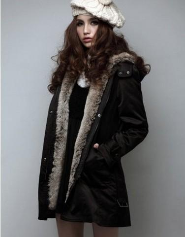 femme hiver chaud 2in1 trench avec capuche manteau v tements pardessus long ebay