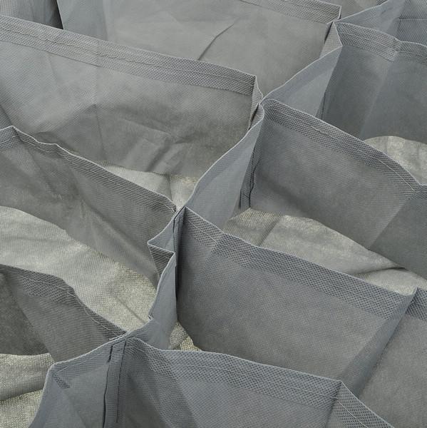 housse bo te rangement organisateur 12 paires pochettes chaussures sous lit. Black Bedroom Furniture Sets. Home Design Ideas