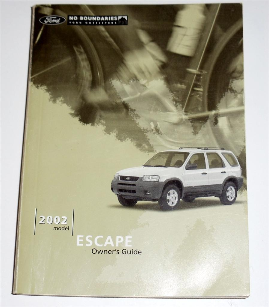 ford escape owners manual book ebay