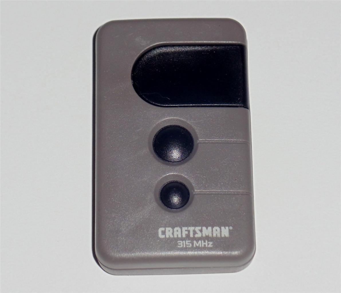 Craftsman Garage Door Remote Opener Manual The Best Free