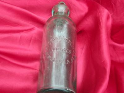 Rare Coca Cola Hutchinson Coke Bottle Great Condition
