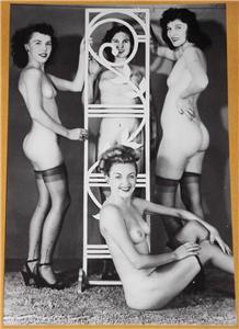 718666575_tp Busty Women Pinup Models 4x6 Photo print Vintage 4012