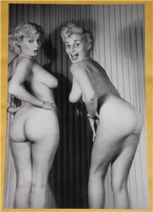 731490577_tp Donna Brown Vintage Pinup Model 4x6 Photo Print C89