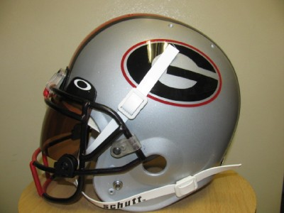 Bulldogs 2011 Pro Combat Fullsize Football Helmet Oakley