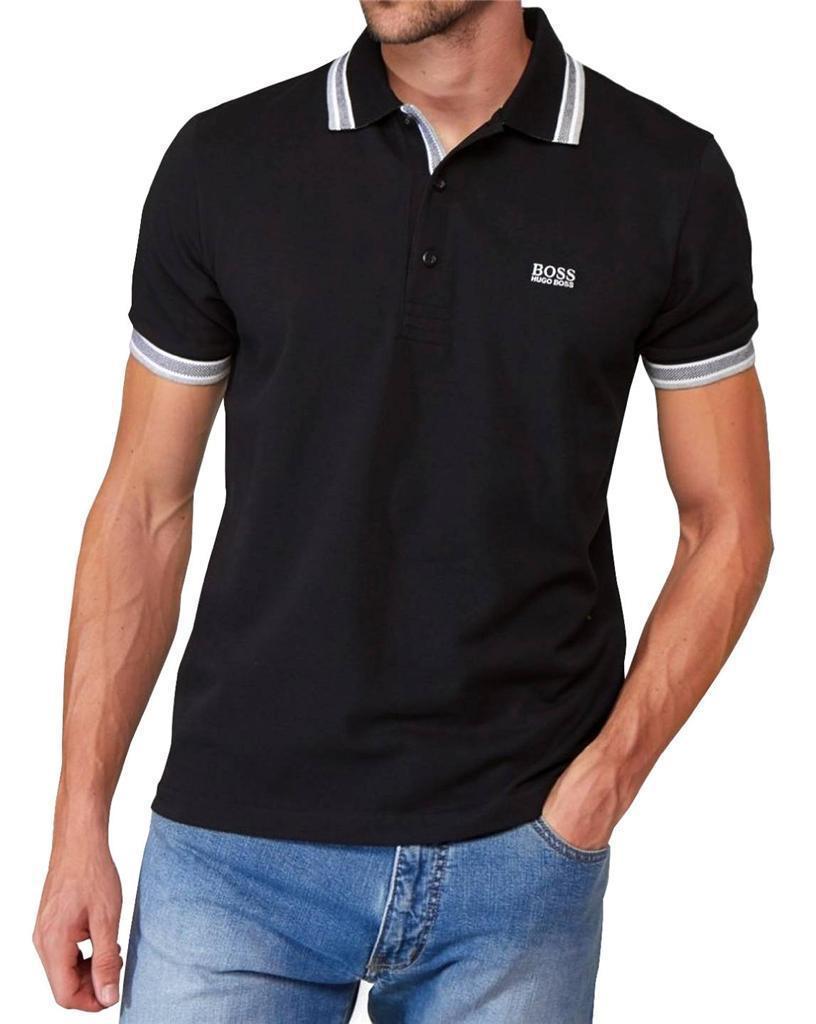 new authentic hugo boss pique cotton men 39 s paddy polo shirt t shirt 50198254 ebay. Black Bedroom Furniture Sets. Home Design Ideas