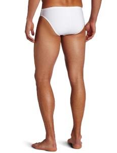 Swimwear White Non-transparent