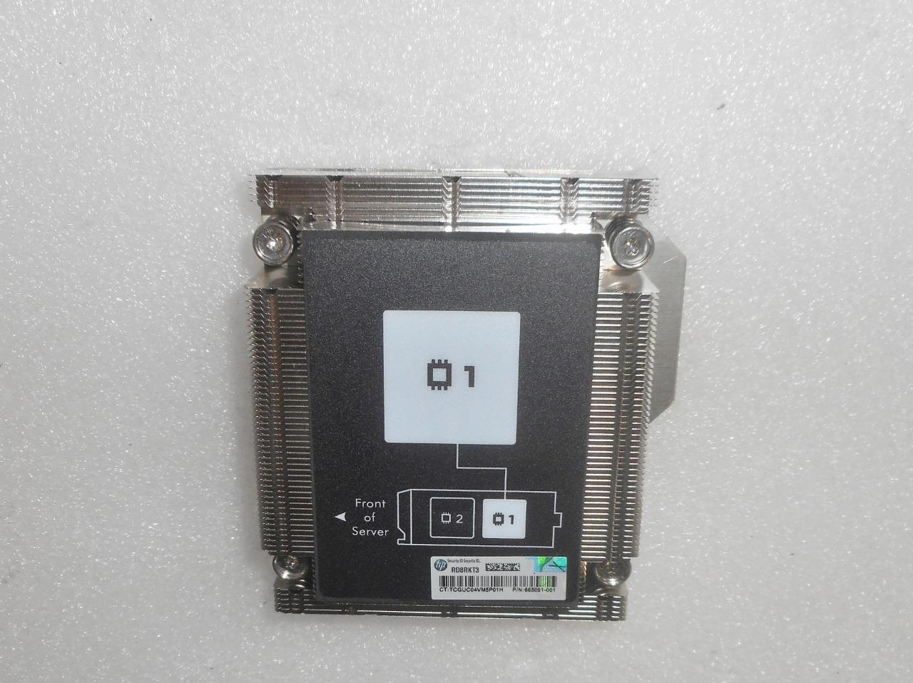 HP 712431-001 BL460c Gen8 CPU 1 Heatsink 665002-002