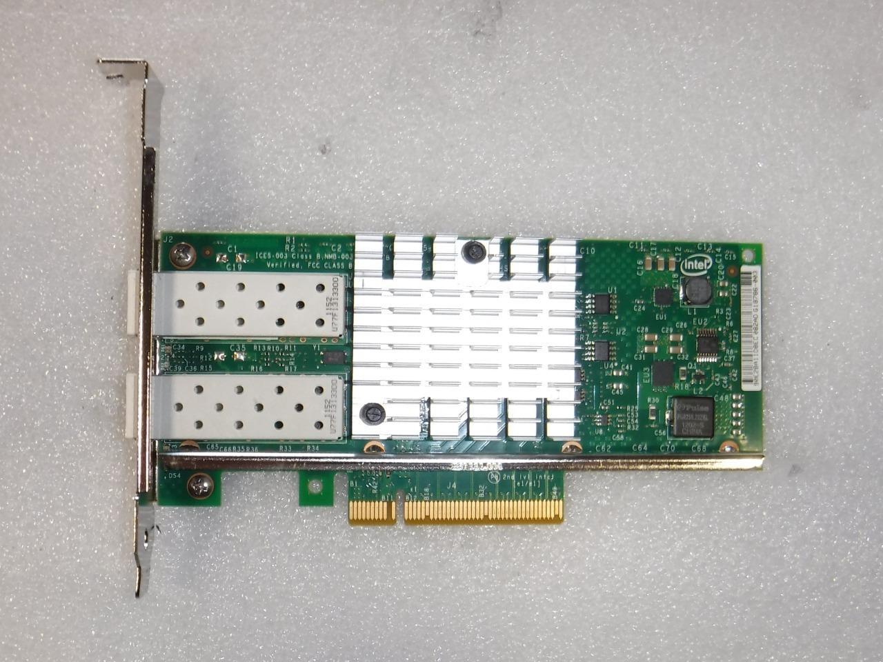 Details about Dell DP/N 0VFVGR VFVGR Intel X520-DA2 10Gb SFP+ Dual Port  PCI-e Network Card