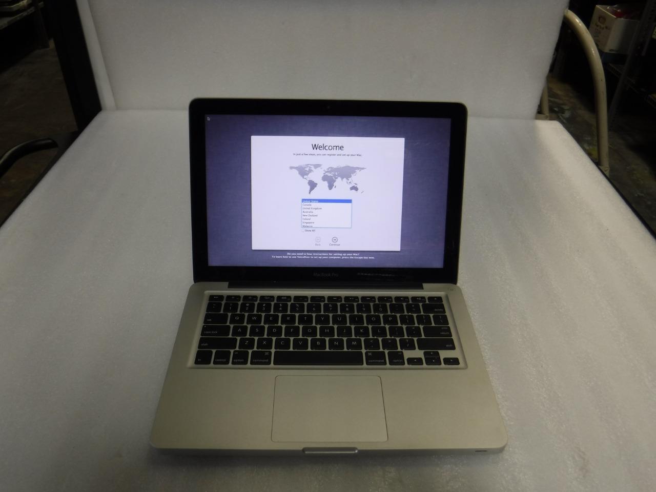 Apple MacBook Pro A1278 OSX Intel Core i5-3210m@ 2 50GHz 4GB 500GB