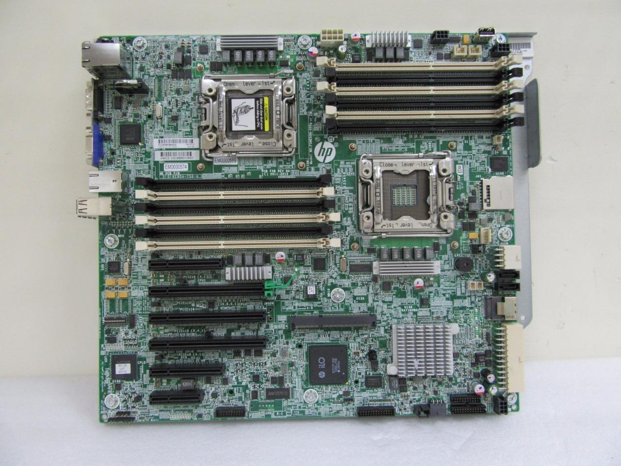 HP SL2500 SL210t Gen8 System Board 735972-001 Half-With SL2500 Motherboard