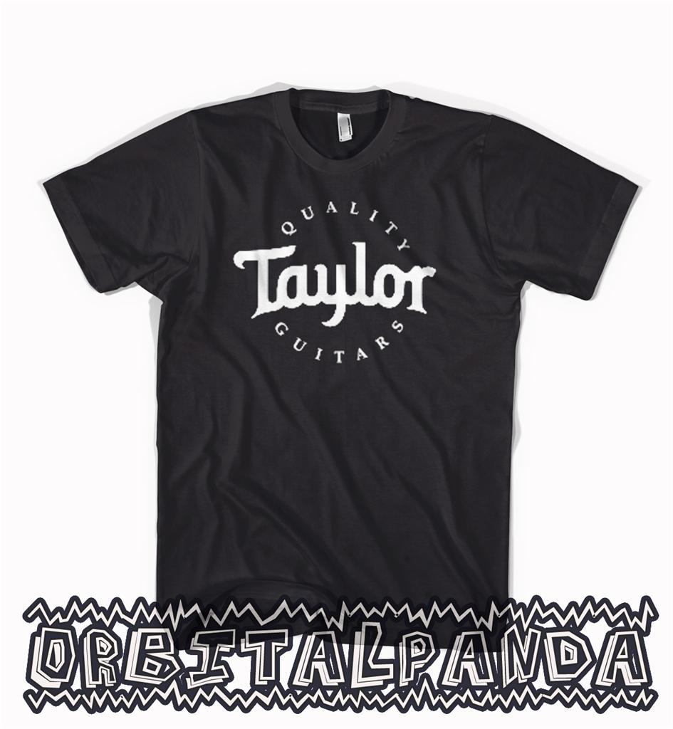 taylor t shirt k14 714 514 414 ce 914 guitar black. Black Bedroom Furniture Sets. Home Design Ideas