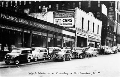 photo 1940s rochester ny mack motors crosley new used cars ebay. Black Bedroom Furniture Sets. Home Design Ideas