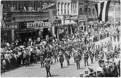 American Soldiers Returning Home Celebration New York