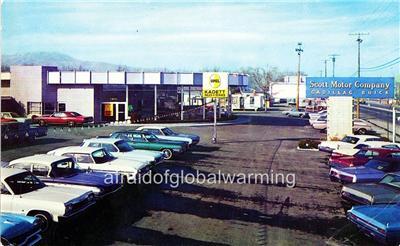 Photo 1960s Reno Nevada Scott Motor Co Cadillac