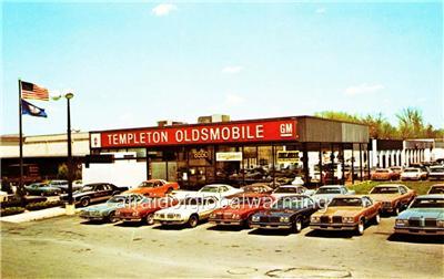 Photo. 1970s. Vienna, Virginia. Templeton Oldsmobile ...