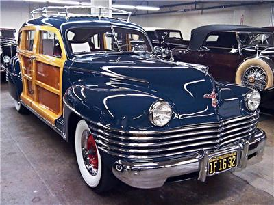 Old Country Auto >> Details About Old Photo 1942 Chrysler Town Country Auto