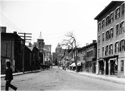 Temple Street Hartford CT Old Photo