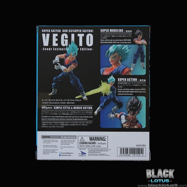 SDCC 2018 Super Saiyan Vegito Vegito Vegito Dragon Ball Super Blaufin Tamashii SH Figuarts ca83a0