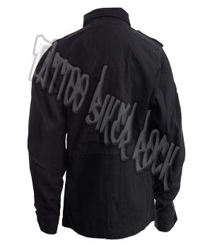 Molecule Black Skateboard Biker BMX Urban Army Combat  Denim Mens Jacket S M L