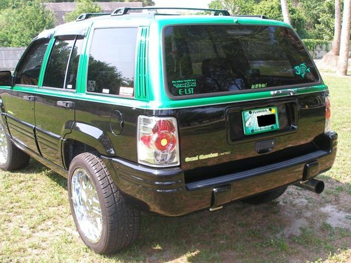 Jeep Grand Cherokee Limited Decals Chrome Custom Colors Ebay