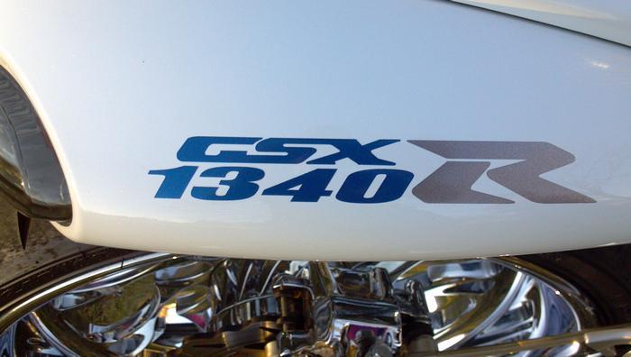 Hayabusa Suzuki Superman Tank Decal Set X2 Premium Metallics Match 09/' Busa NICE