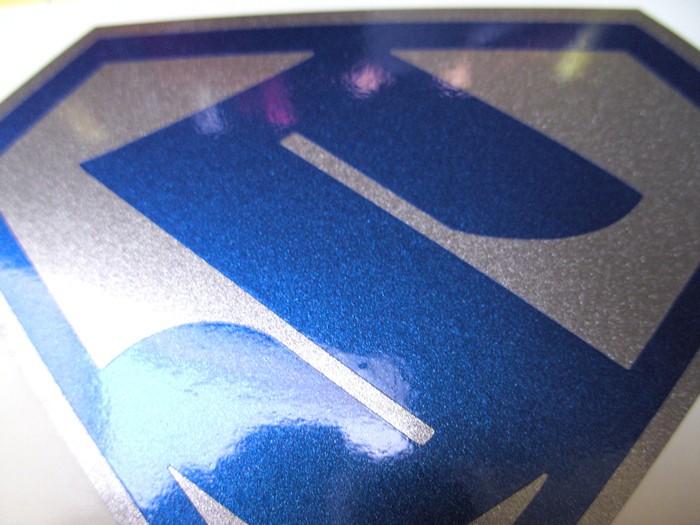 Hayabusa Suzuki Superman Tank Decal Set X2 Premium