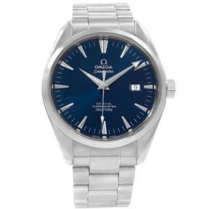 ed6ece85b83 Omega Seamaster Aqua Terra 42mm Blue Dial Steel Mens Watch 2502.80 ...
