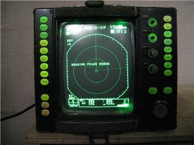 Raytheon R41xx Raster Scan Radar Mariners Pathfinder Fish