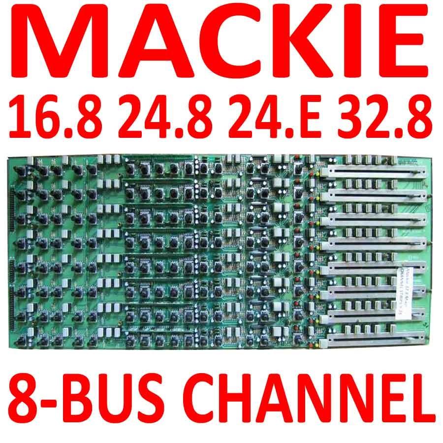 mackie 24 8 32 8 mixer channel strip 8 bus 450 009 00 ebay. Black Bedroom Furniture Sets. Home Design Ideas