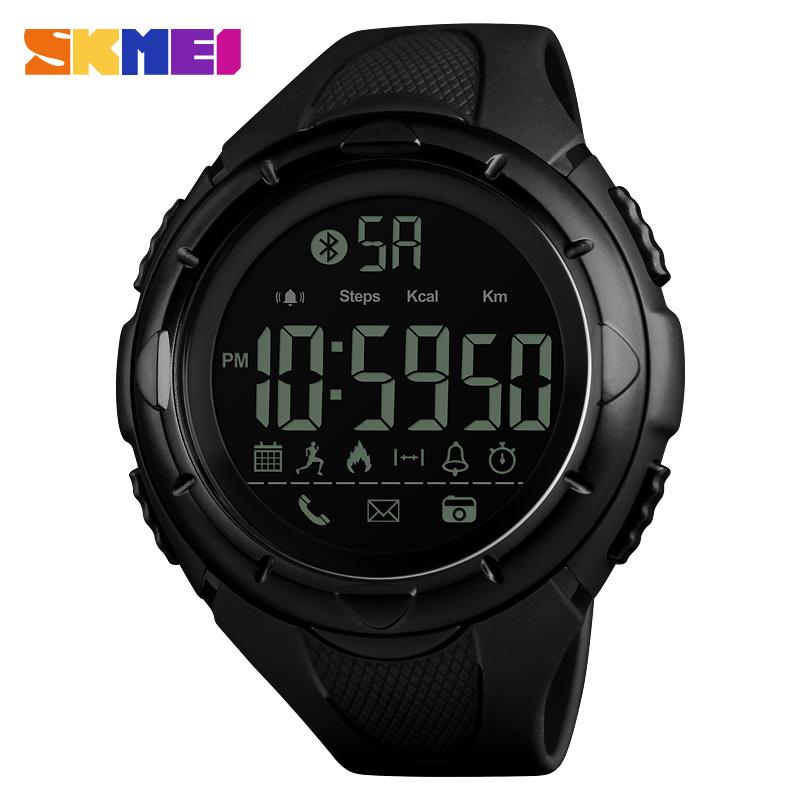Men-Women-Watch-Bluetooth-Smart-Watch-Gift-Timer-Digital-Time-Skmei-LED-5-ATM