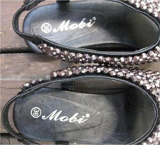 Stylish shoes beaded detail flip flop flat sandals