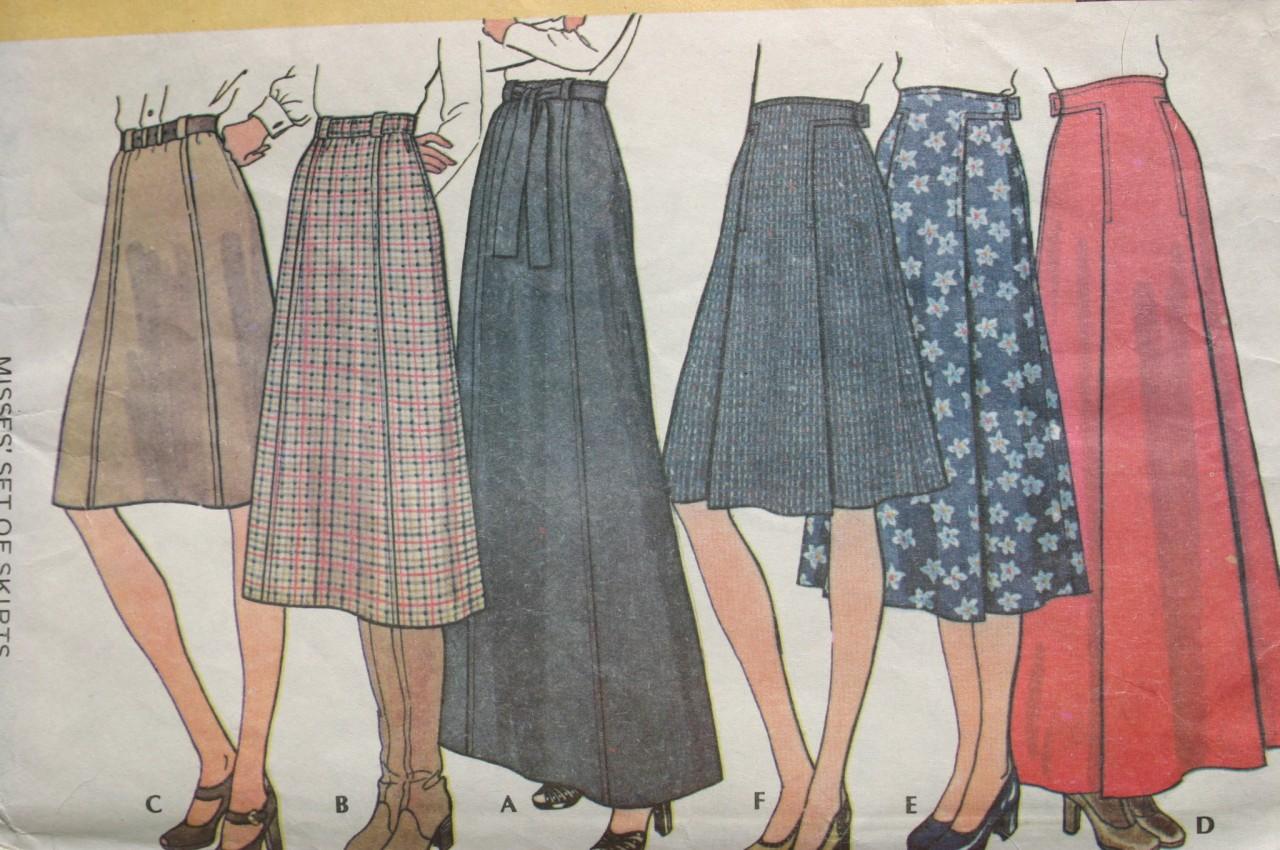 Split Skirt Patterns 116
