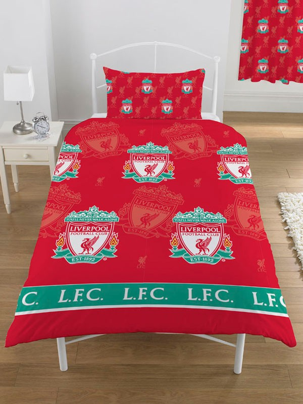 Liverpool Fc Bedroom Accessories Bedding 100 Official New
