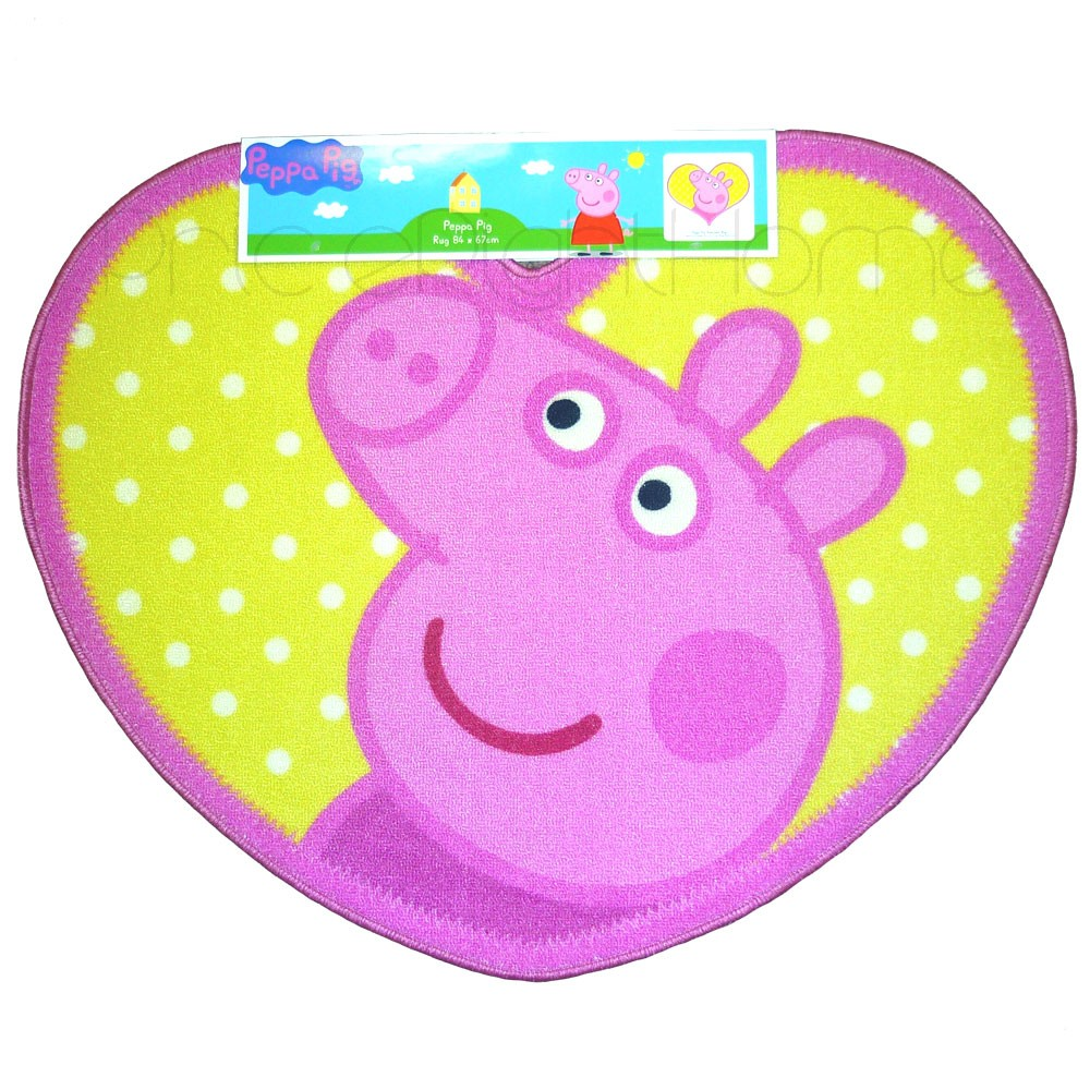 Peppa pig bedding bedroom decor duvets wall stickers lighting picture 2 of 2 amipublicfo Images