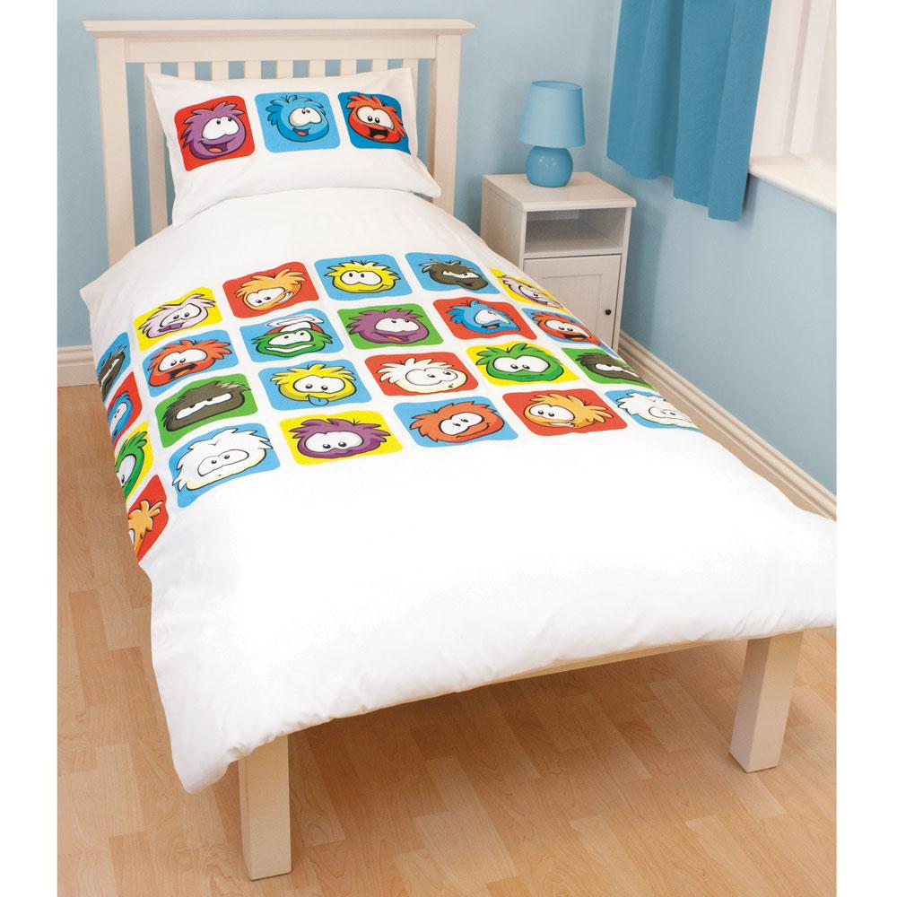 Update your spare room or give kids' bedrooms a makeover with our single duvet covers. A fun pattern in vibrant shades adds a playful theme to neutral decor and can be refreshed with new pillowcases and sheets as children grow older.