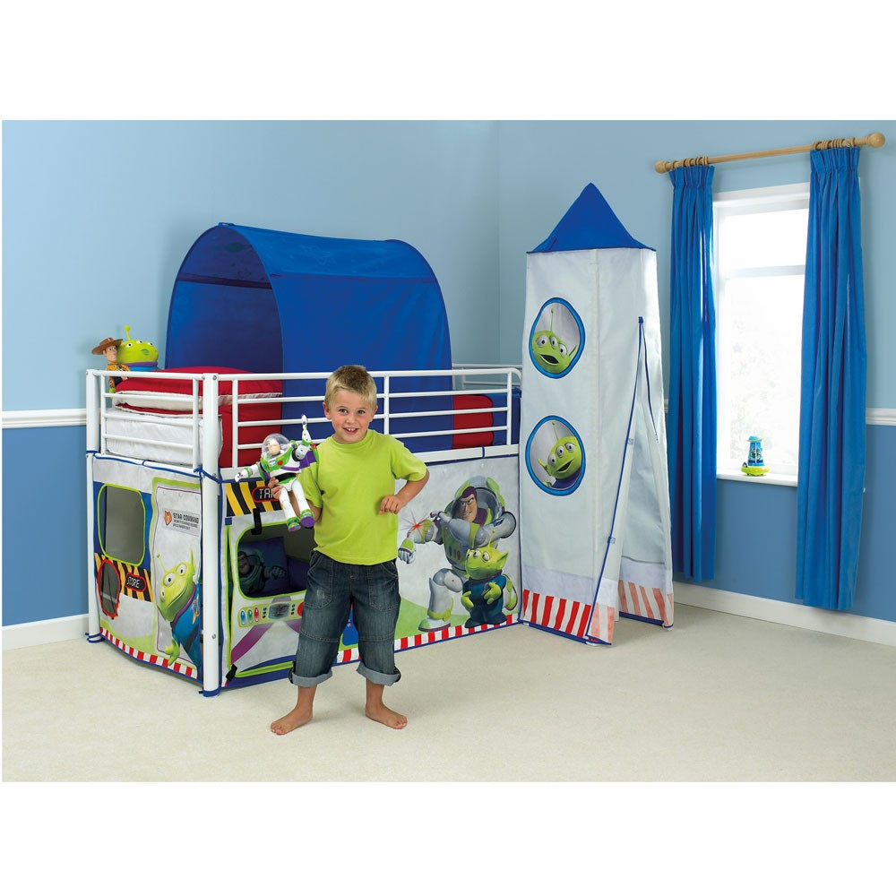 Toy Story Mid Sleeper Cabin Bed Tent New Official Buzz Ebay