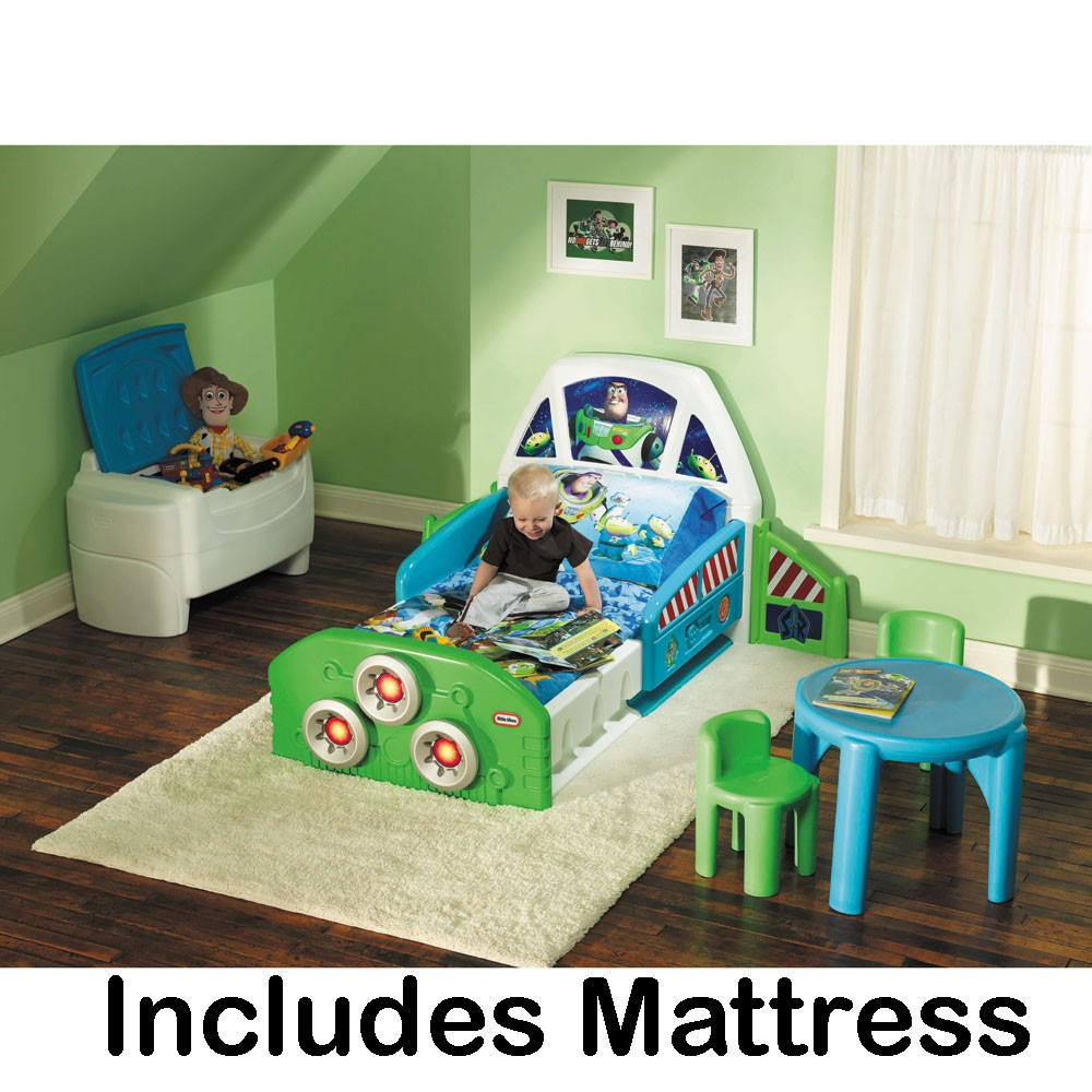 Buzz Lightyear Toddler Bed Mattress Little Tikes New Ebay